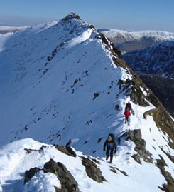 Winter courses in the Lake District