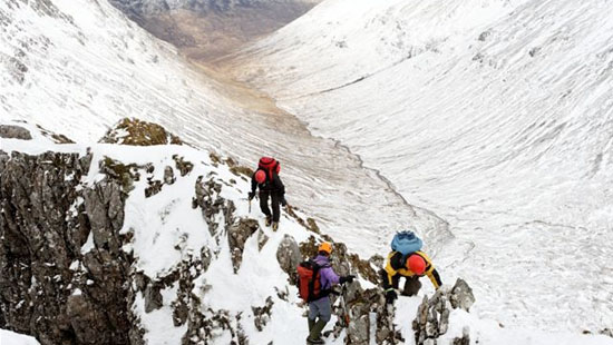 Winter skill courses - mountaineering